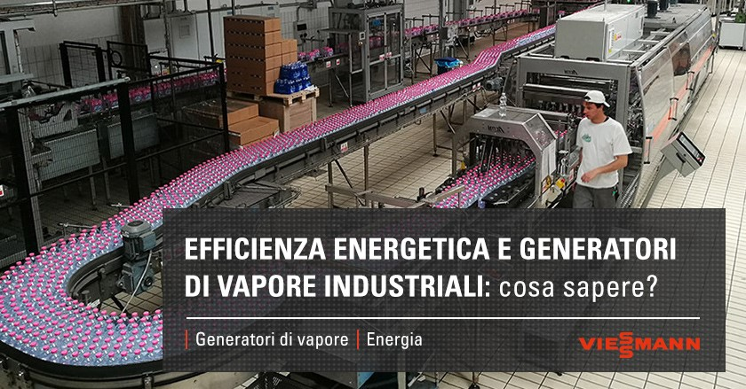 Efficienza energetica e generatori di vapore industriali: cosa sapere?